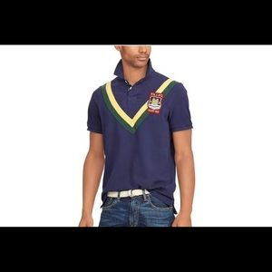 NWT Polo Ralph Lauren Rugby Multi Navy Polo